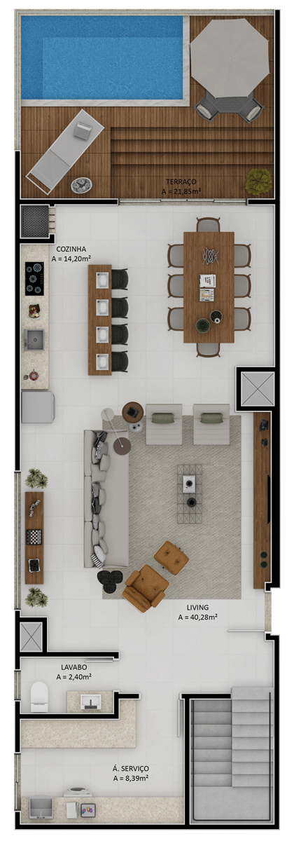 Duplex final 2 superior (Planta)