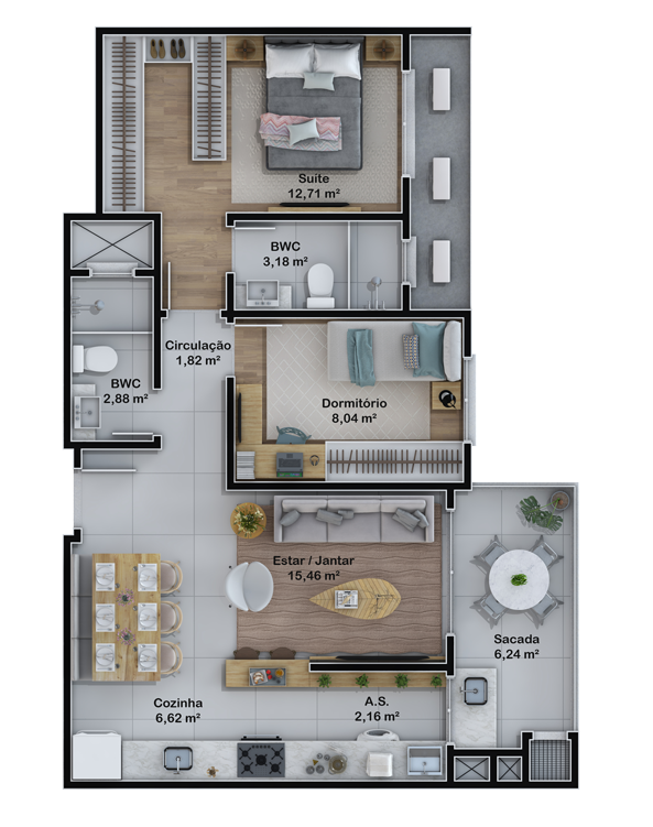 Apartamento final 3 (Planta)