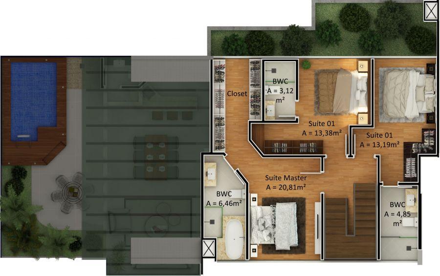 Apartamento Duplex (Planta)